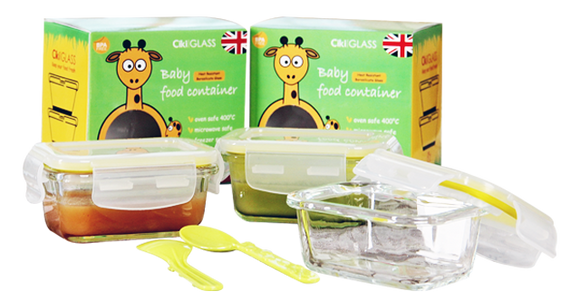 Baby Food Container 150 (2pcs x 150ml)