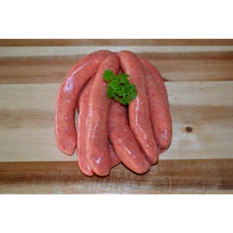 Thin Country Style Beef Sausages