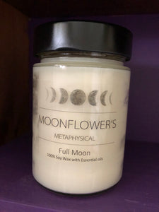 Full Moon Soy Jar Candle