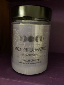 Crown Chakra Soy Jar Candle