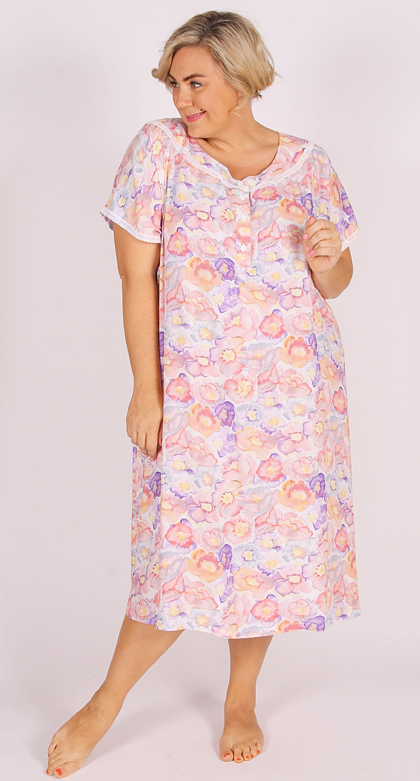 Nigella Nightie Apricot