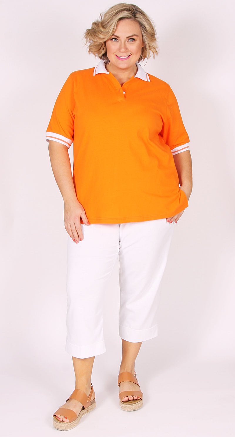 Laura Polo Orange