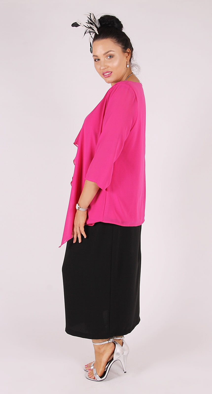 Karl Joseph Waterfall Top Pink