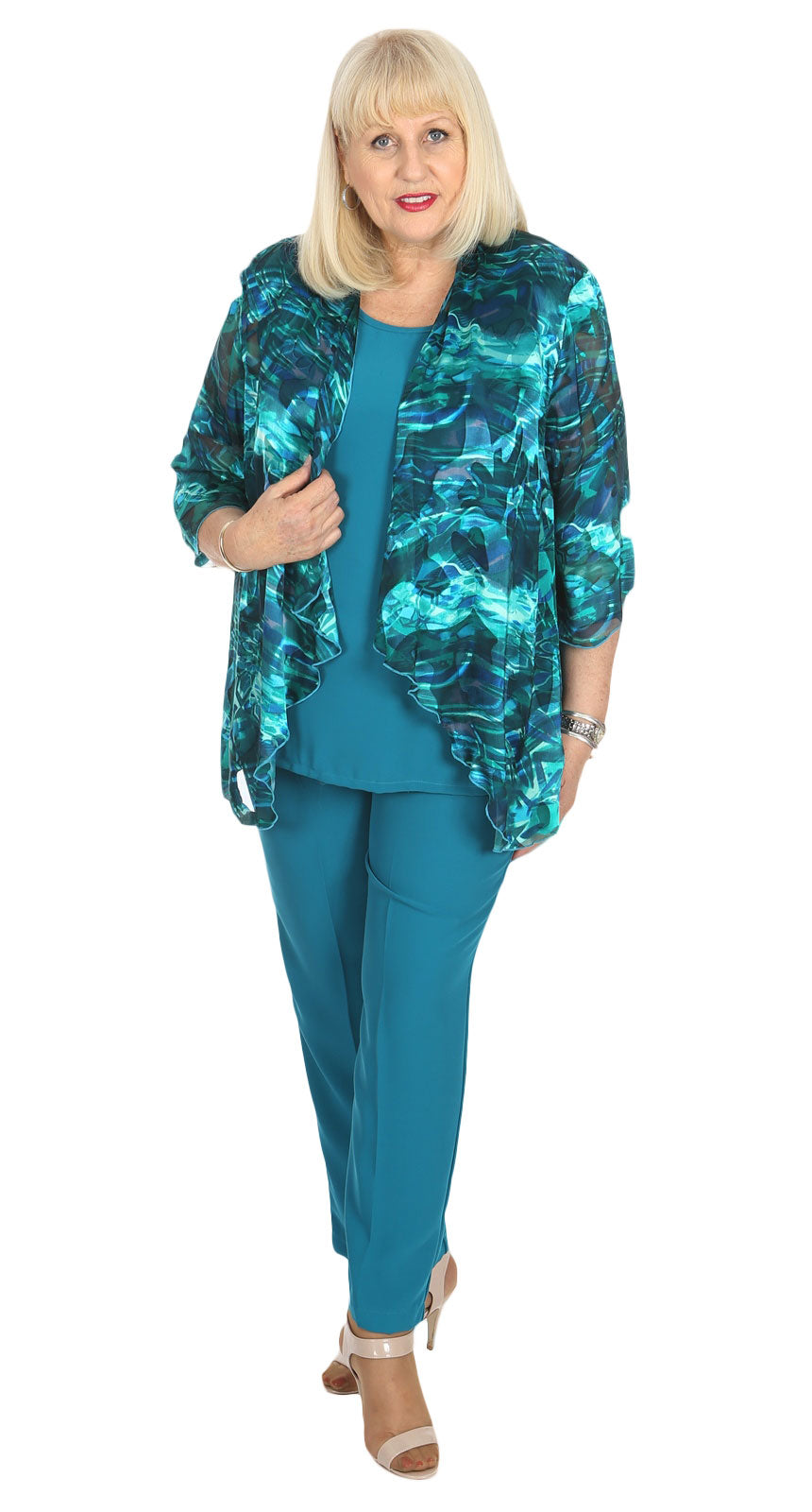 Sybil's Crepe Pant Teal