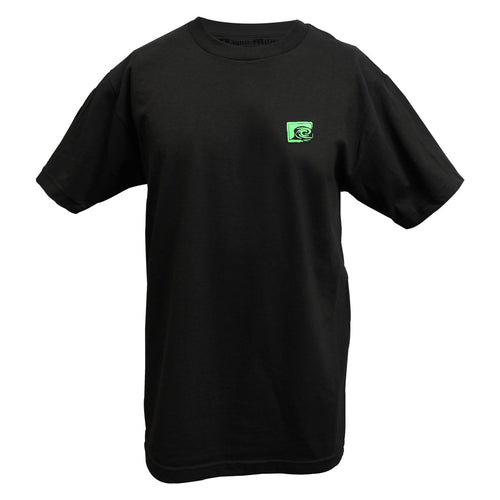Trap Mens Standard Tee In Black - Front