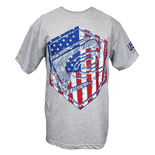 Men's American patriotic t-shirts red, white, blue