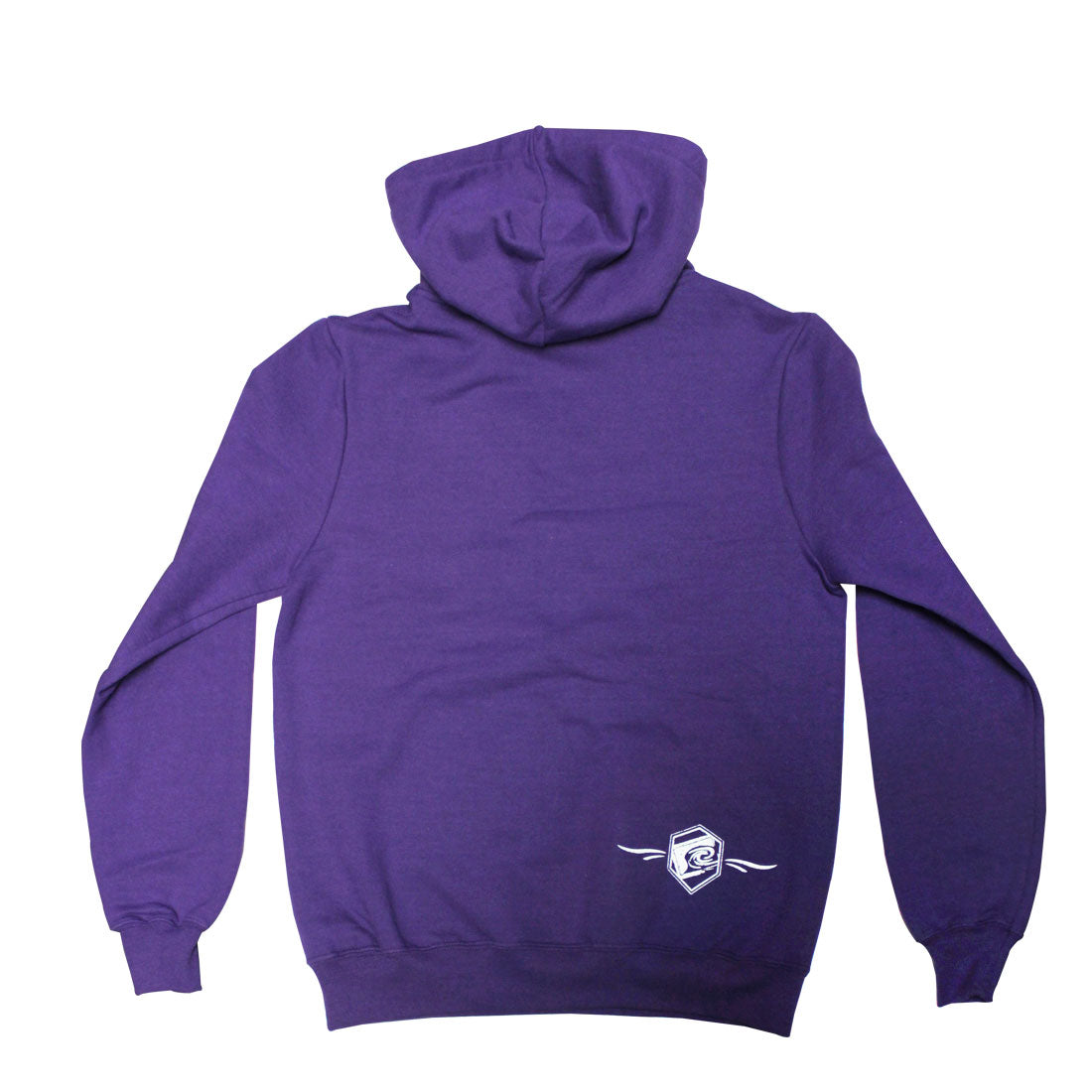 Appear Girls Pullover Sweatshirt in Purple - Back