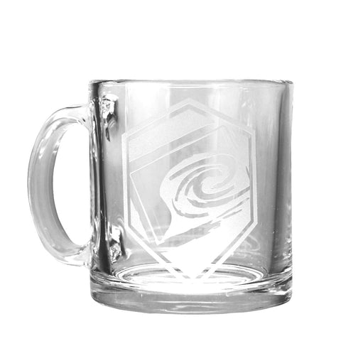 Rank Coffee Mug in Black/White