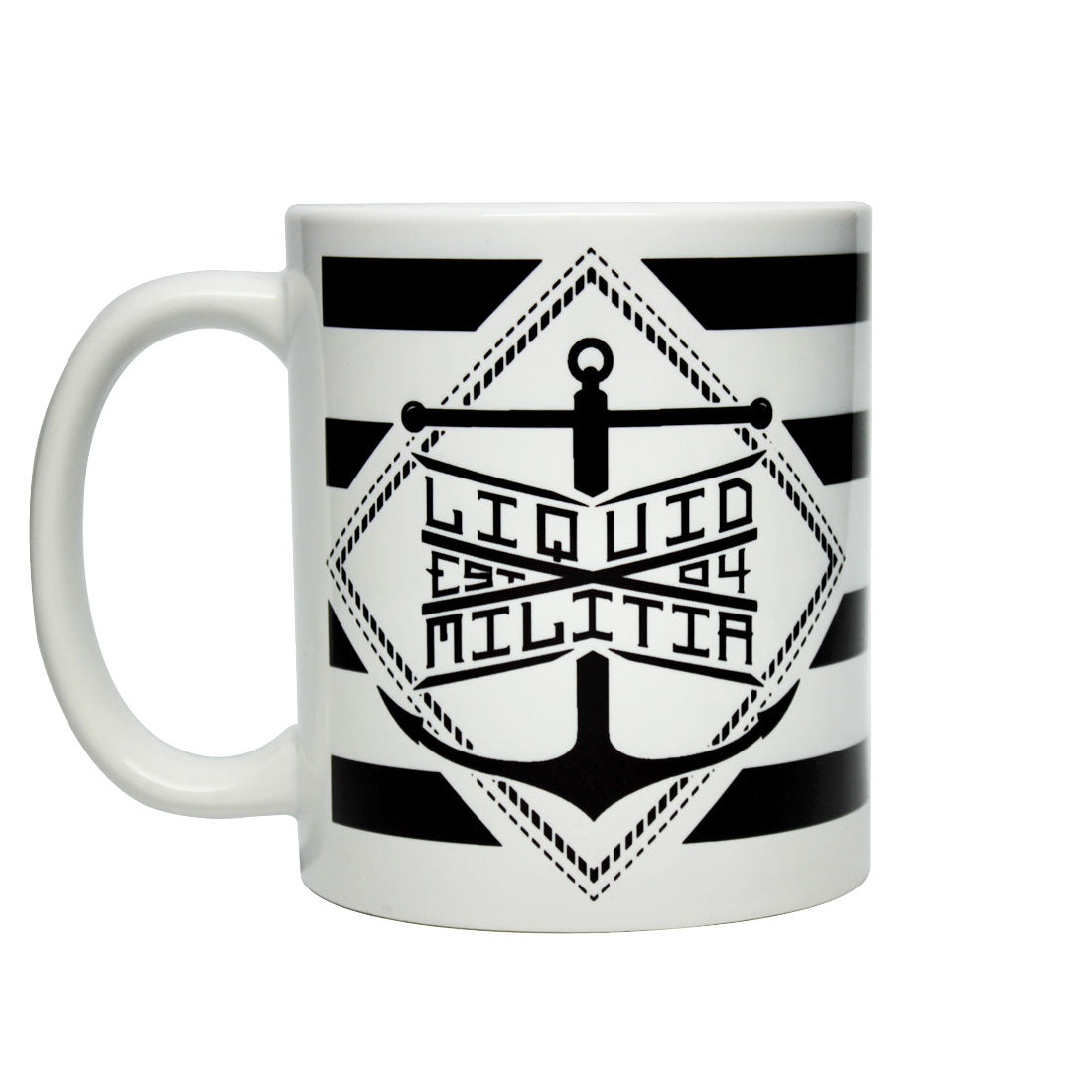 Liquid Militia Anchor coffee mug