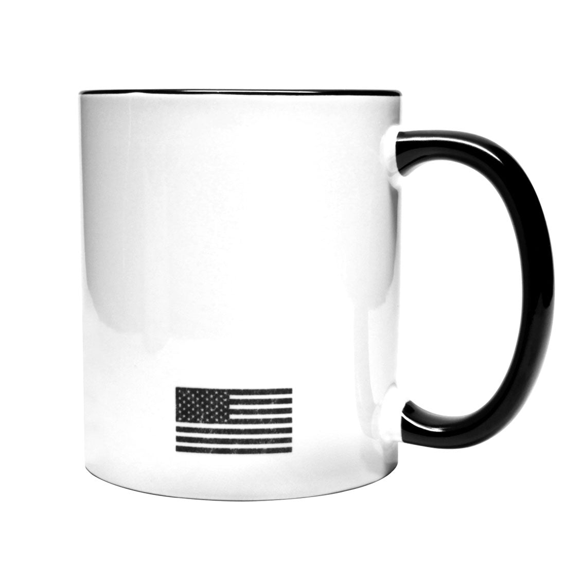 Don't tread on me Liquid Militia Coffee Mug with American Flag