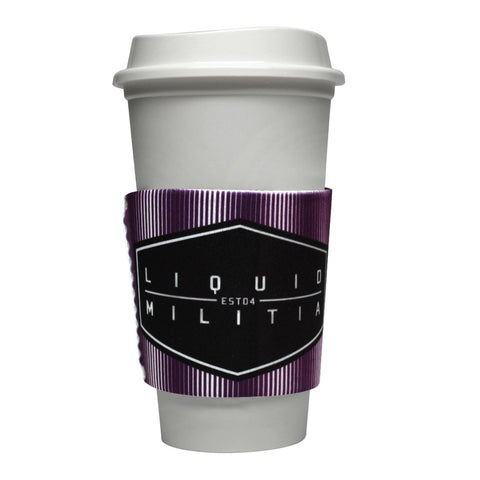 Voltage Coffee Sleeve in Green Black