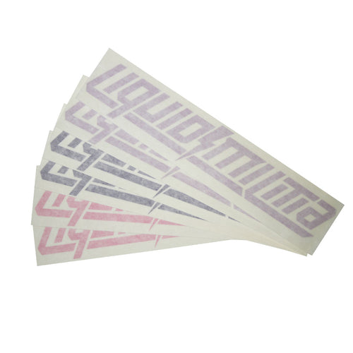 Determine Decal 6 Pack in Matte Violet/Purple/Pink