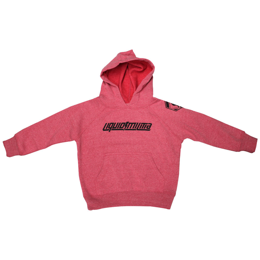 Pass Toddler Hooded Pullover Sweatshirt in Pomegranate