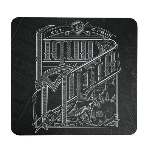 Wrench mousepad in black