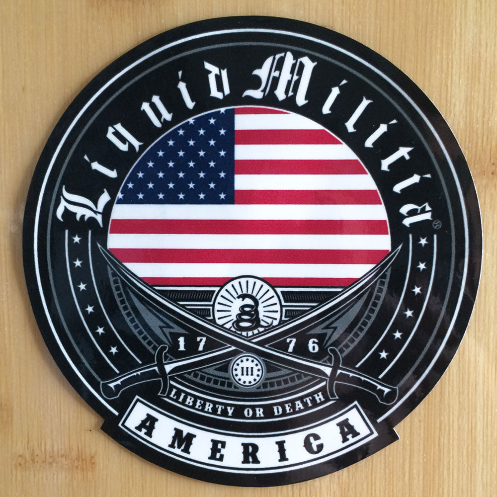"Applied - Independence 4 1/2"" Round Sticker"