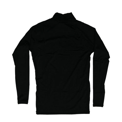 Motion Long Sleeve Rashguard in Black - Back View