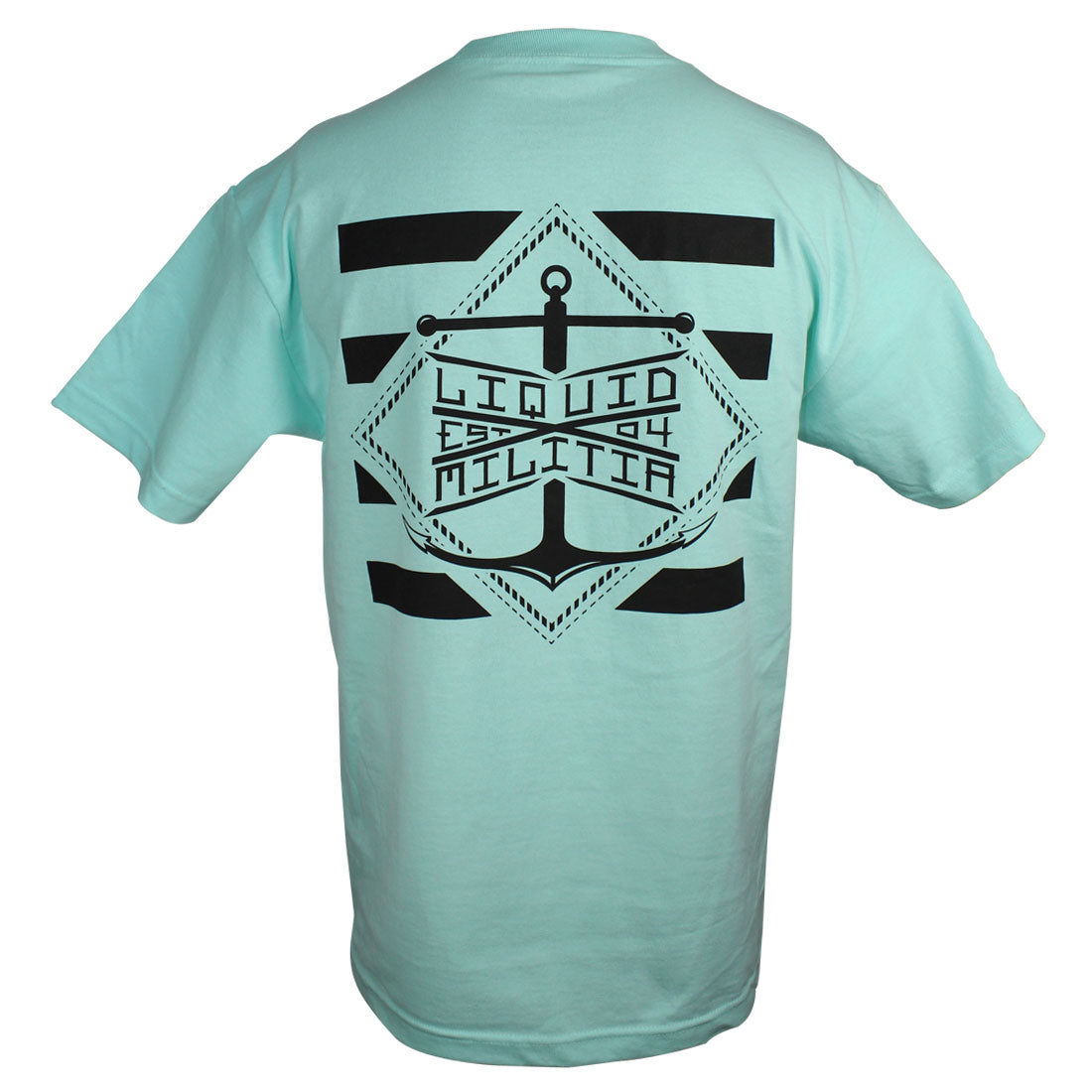 Pylon Mens Standard Tee in Celadon - Back