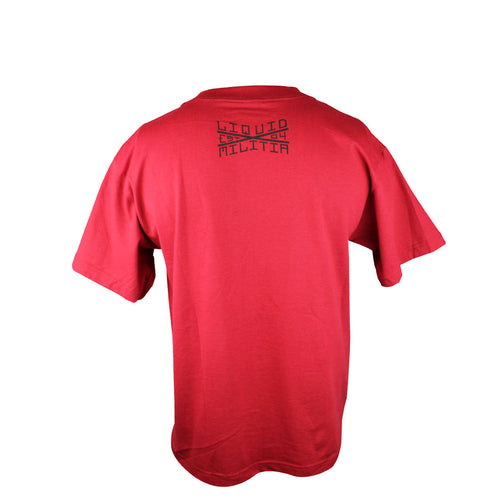 Deck Youth Boys Tee in Cardinal - Back