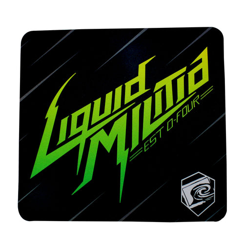 Zone Mousepad in Lime Black