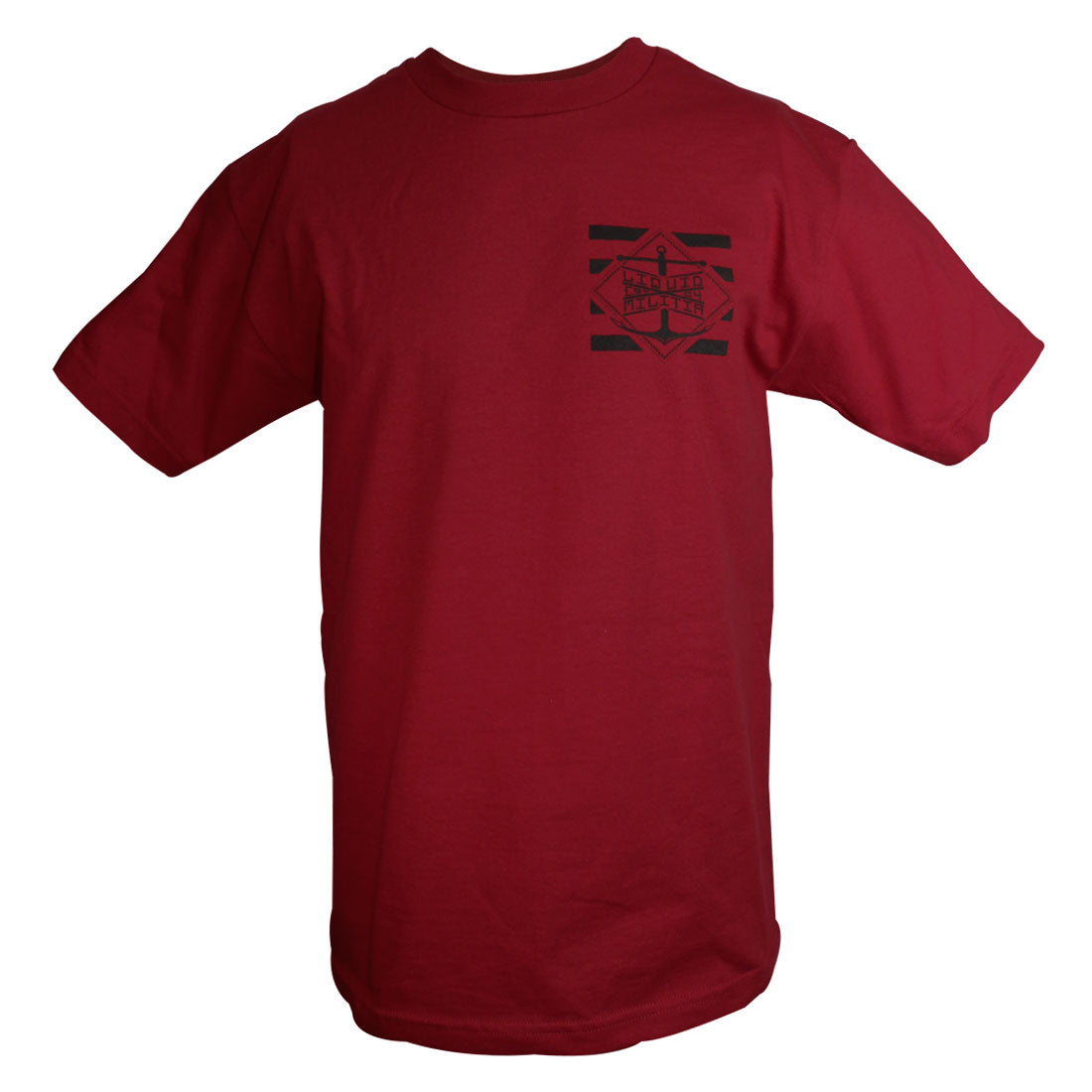Pylon Mens Standard Tee in Cardinal - Front