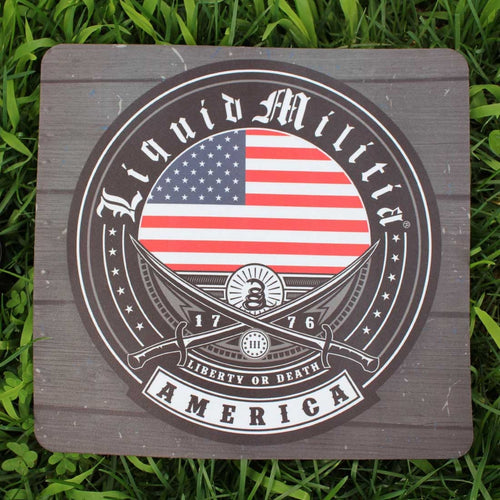 Liquid Militia Tradition Mousepad American Style