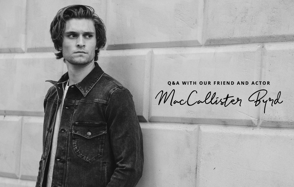 Q&A With MacCallister Byrd