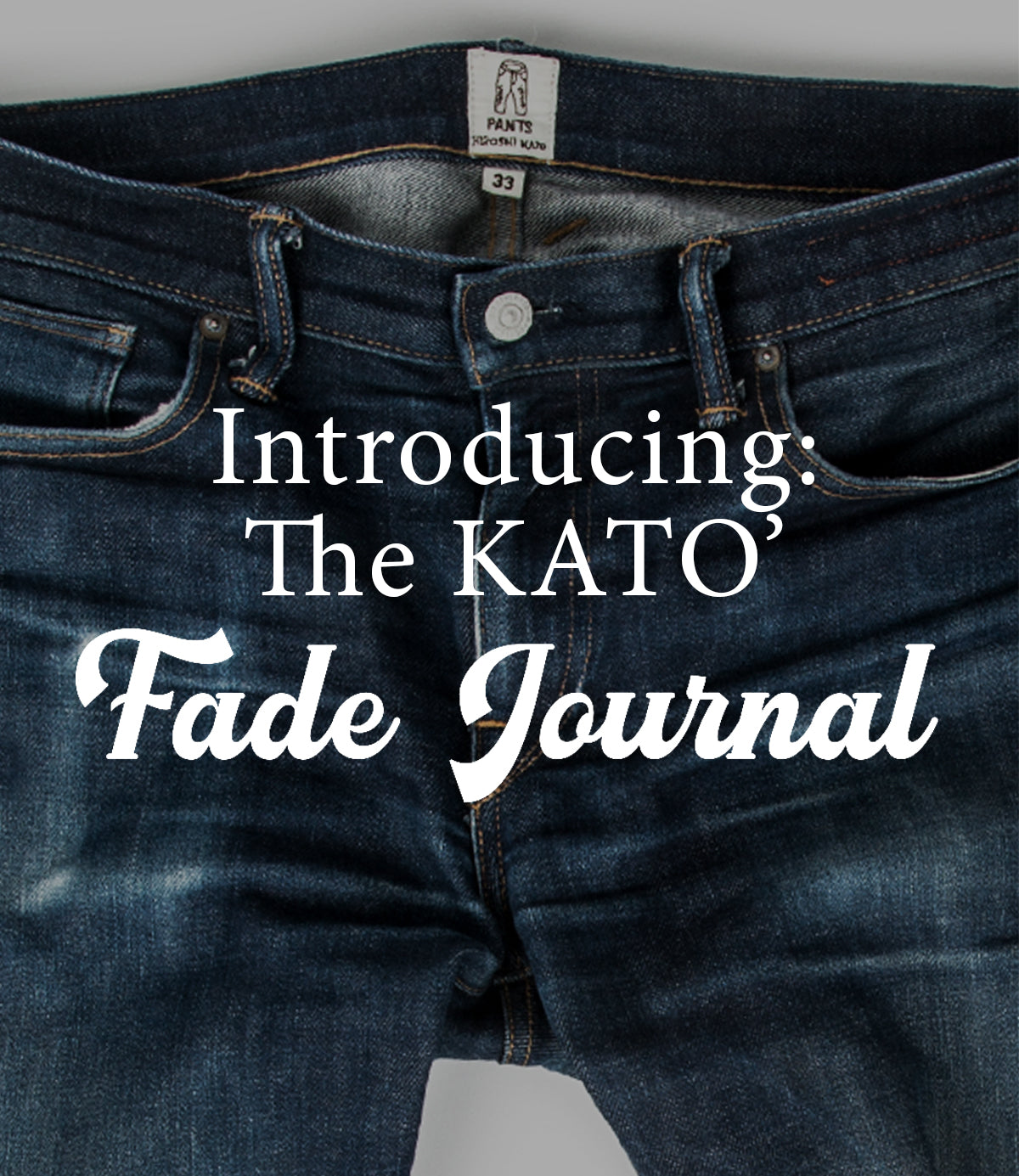 Introducing the KATO' Fade Journal