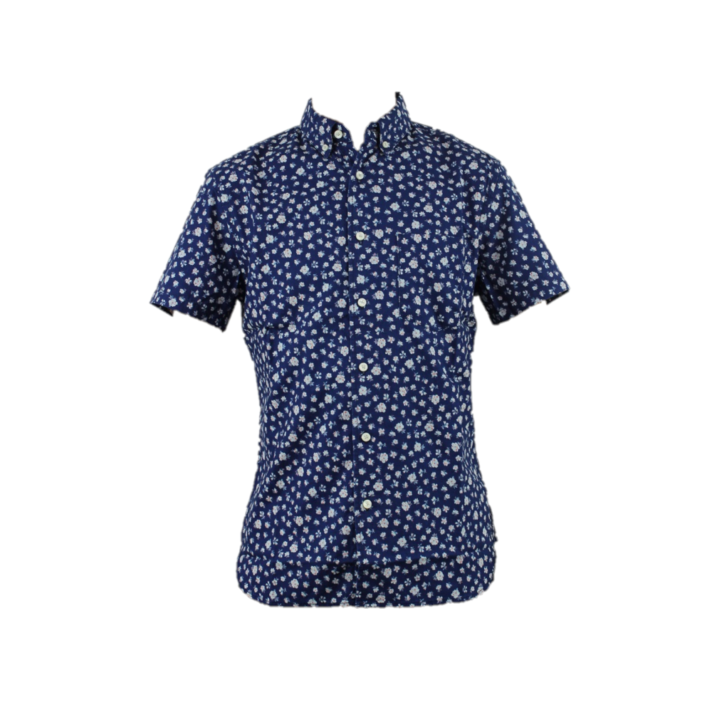 0004-161B Short Sleeve Shirts Button Down
