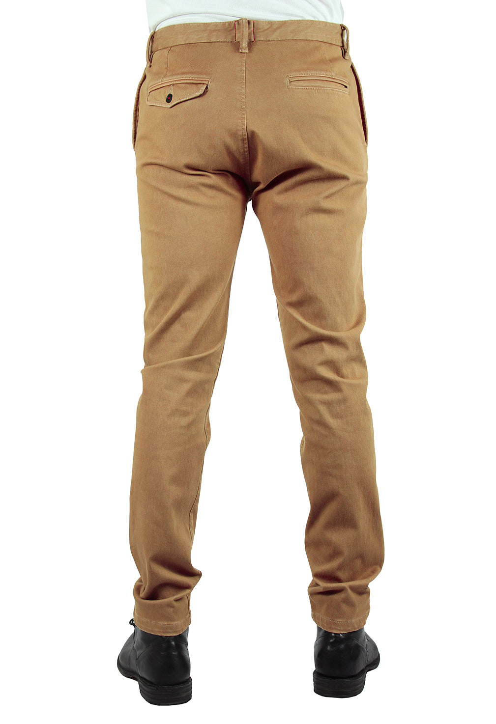"""THE AXE"" - KHAKI SLIM CHINO 4WAY FRENCH TERRY"