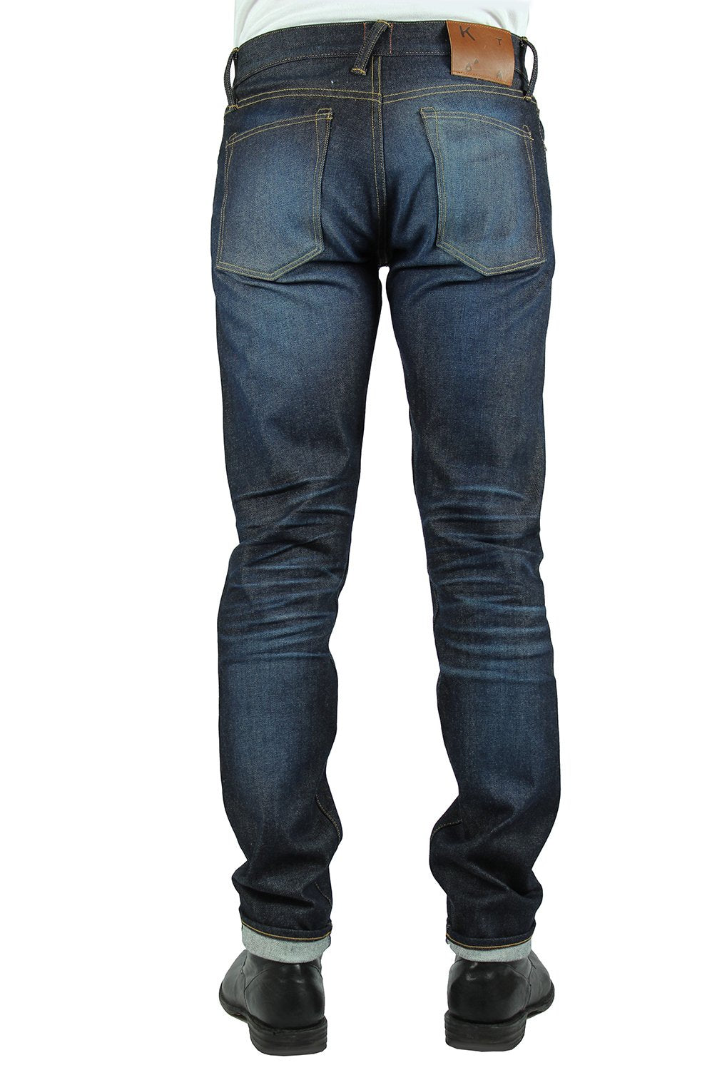 """THE PEN"" SLIM - LASER 10.5OZ 4-WAY STRETCH SELVEDGE JEANS"