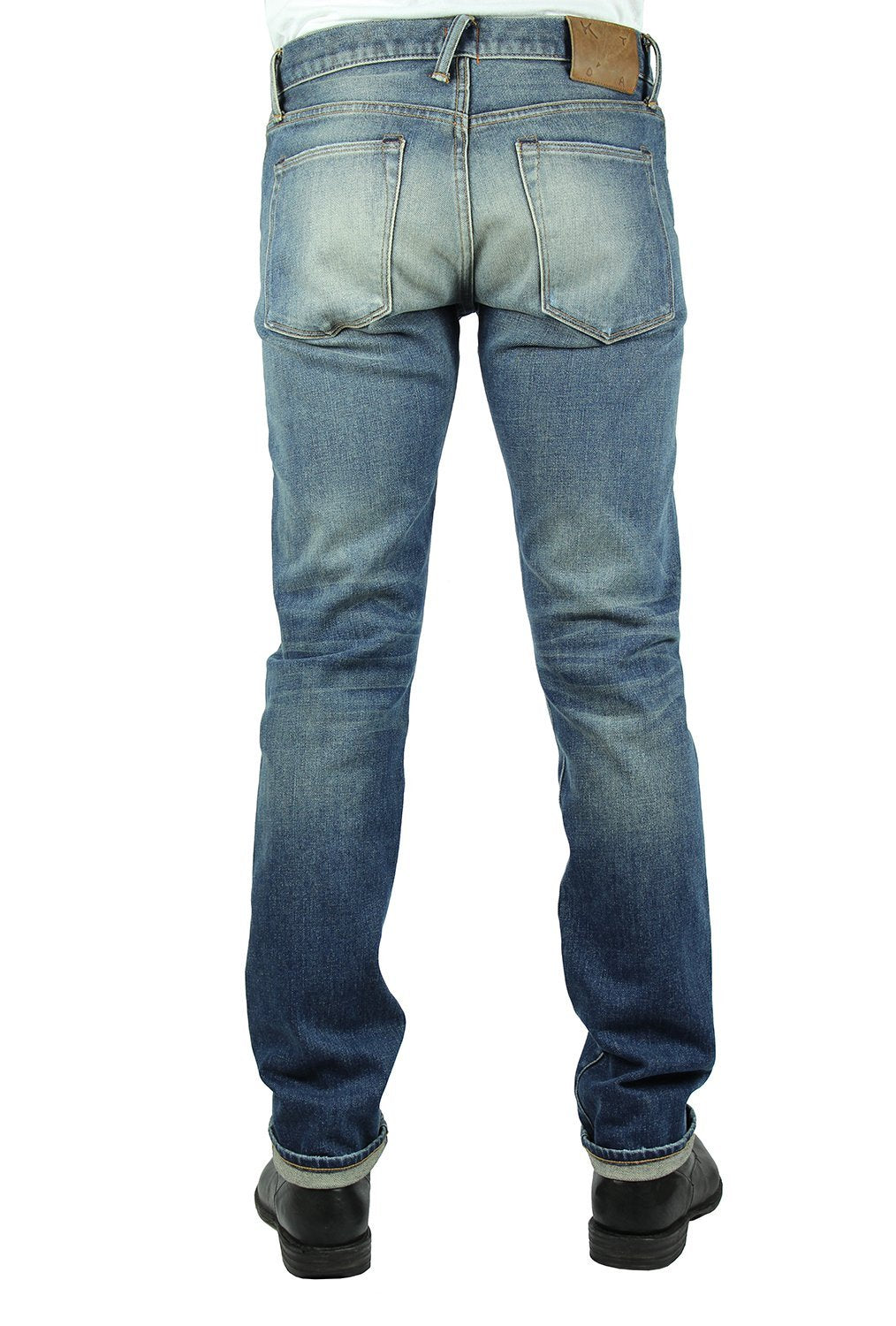 """THE PEN"" SLIM - HENDRIX 14OZ 4-WAY STRETCH SELVEDGE JEANS"