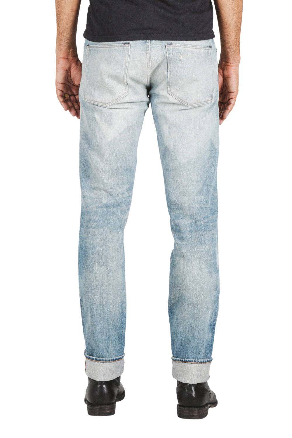 """The Pen"" Slim 14oz - Cobain 4-Way Stretch Selvedge Jeans"