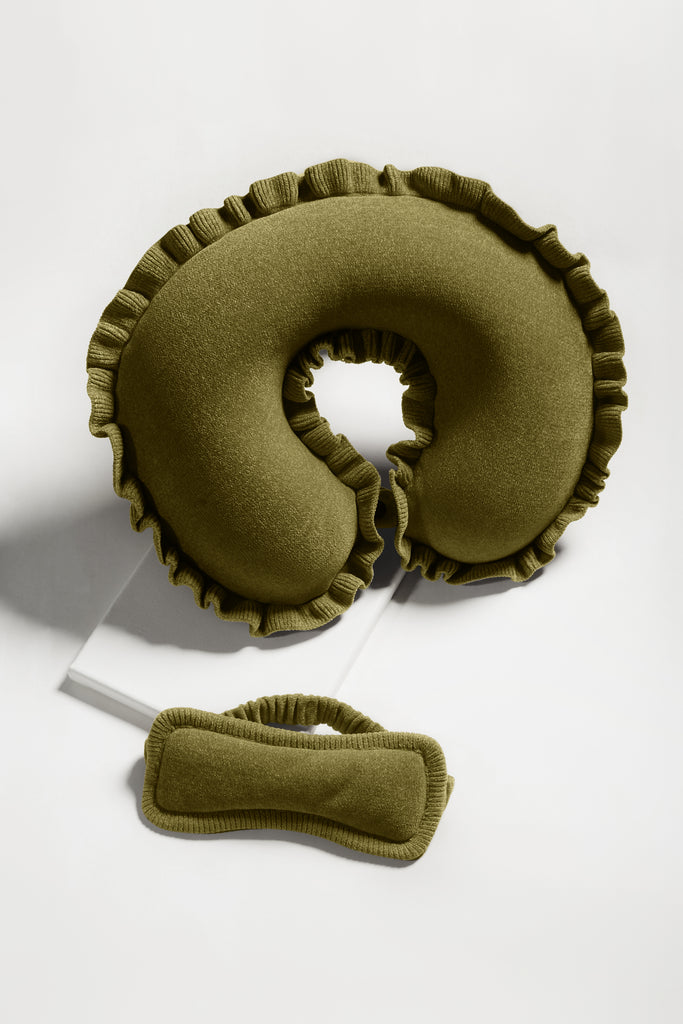 Neck Pillow Sleeping Mask Gift Set