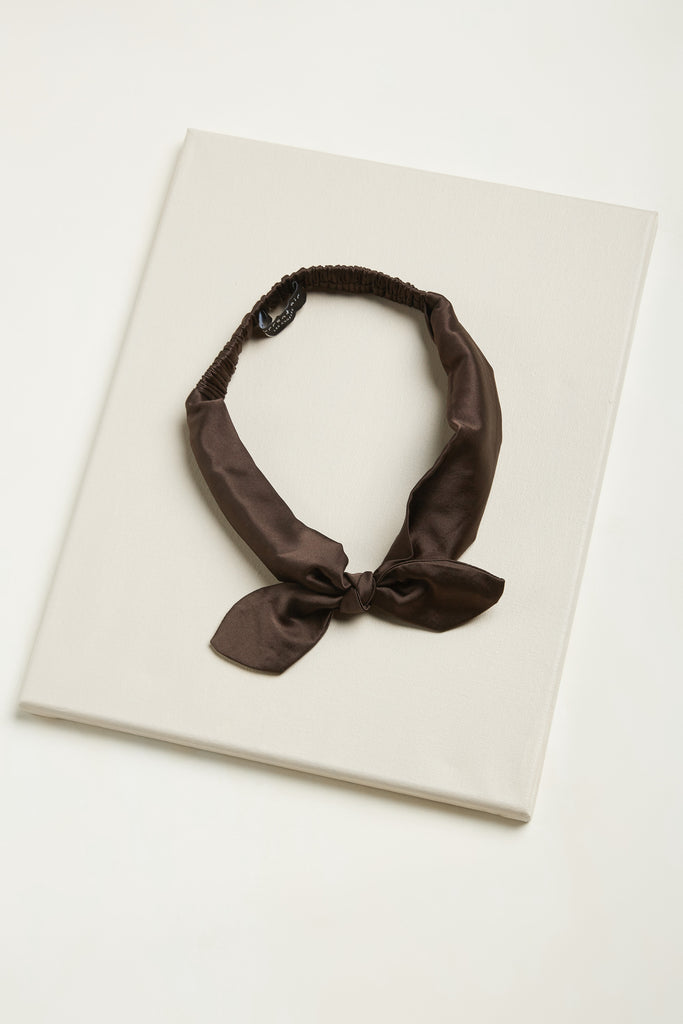 Silk Bow Tie Headband