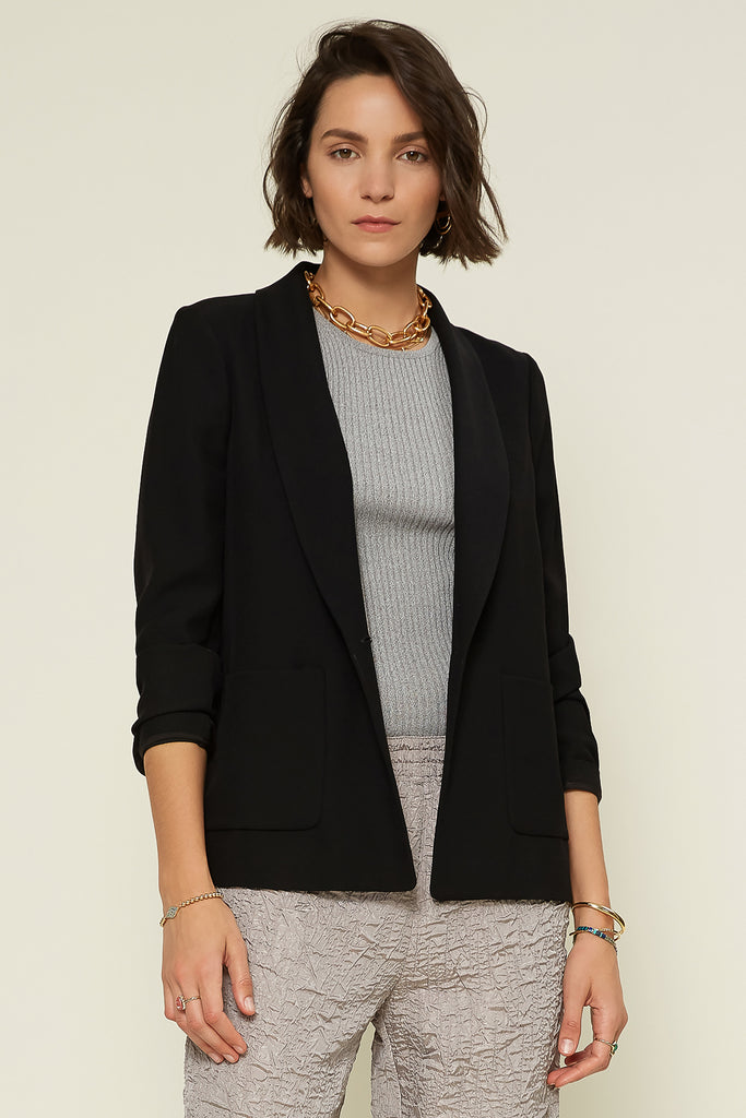 Single Button Classic Blazer