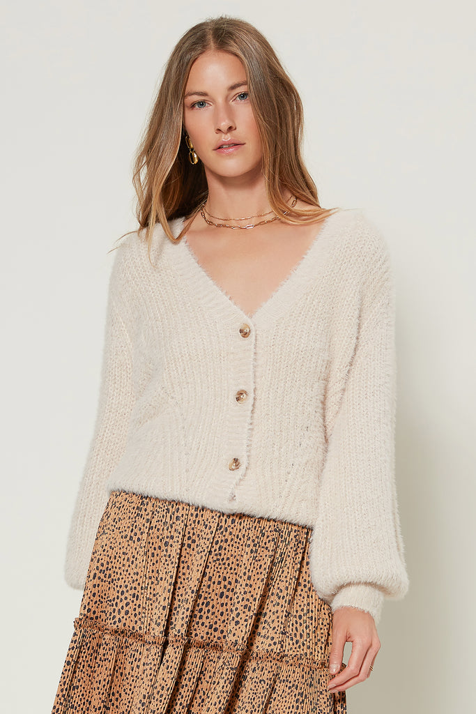 Slouchy Cardigan Sweater
