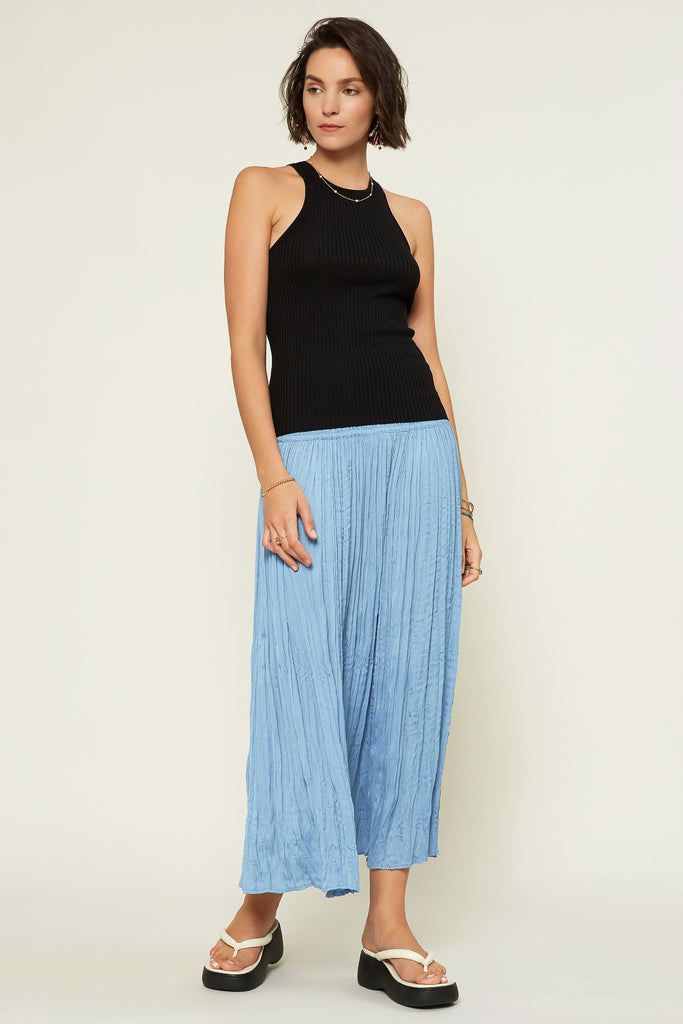 Soft Crinkle Maxi Skirt