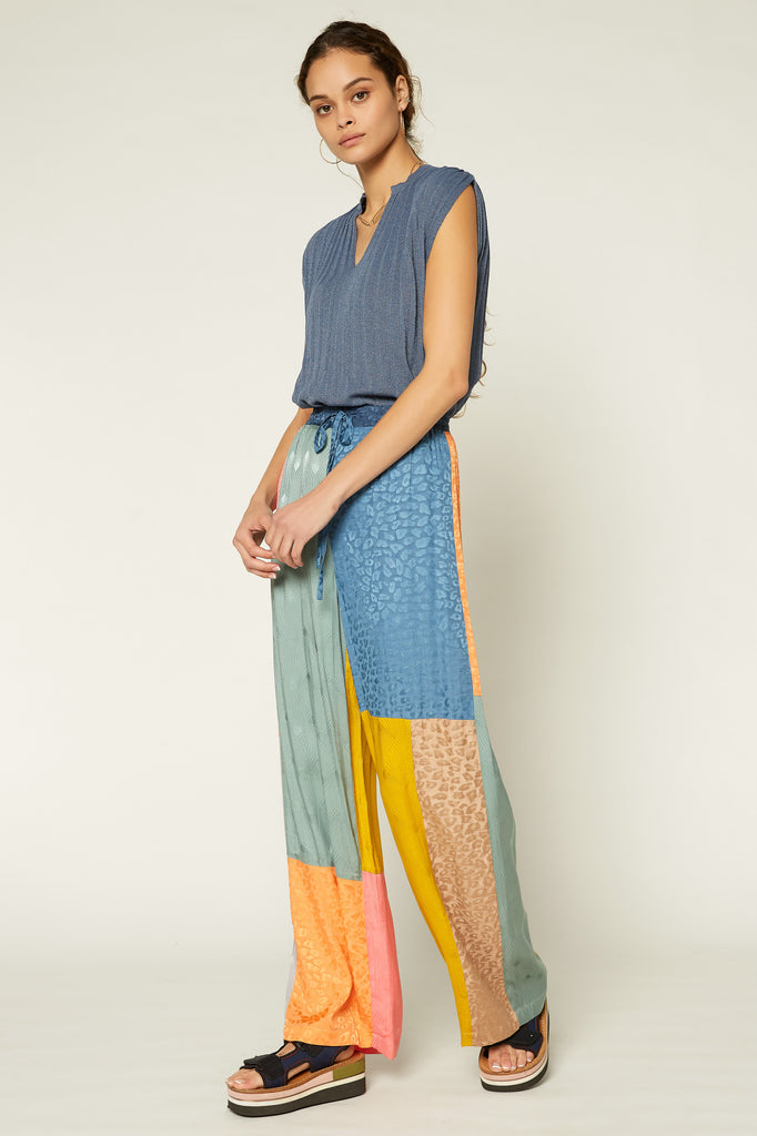 Color Block Resort Pants