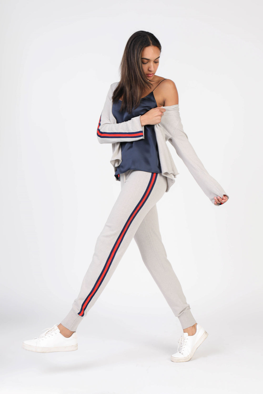 Stripe Taped Knit Joggers