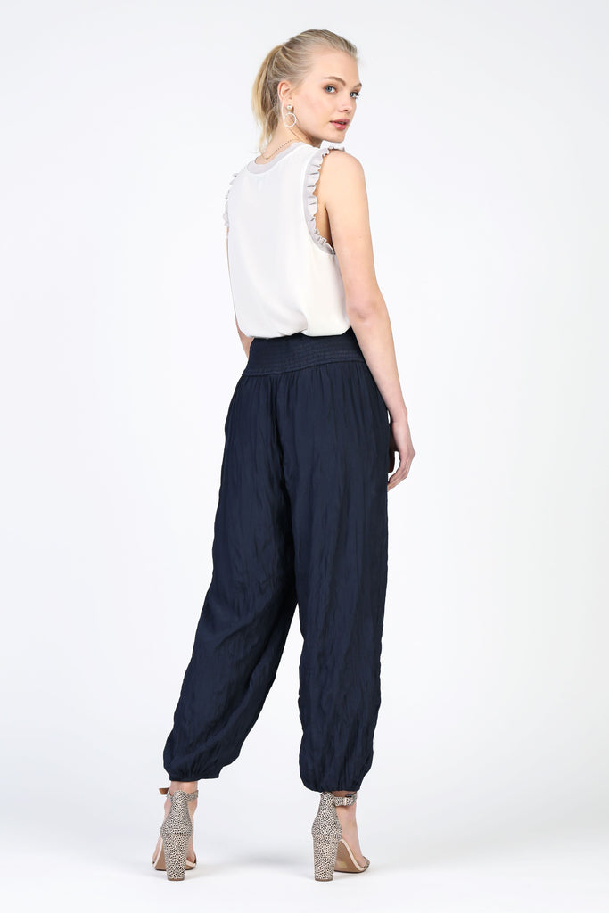 Pull-on Crinkle Jogger Pants