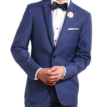 Load image into Gallery viewer, Ike Behar Indigo Blue Tux