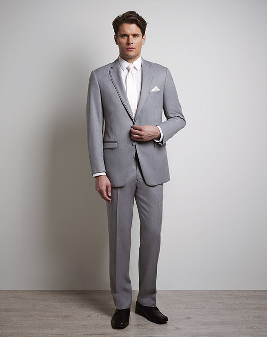 Allure Men Heather Gray Tux
