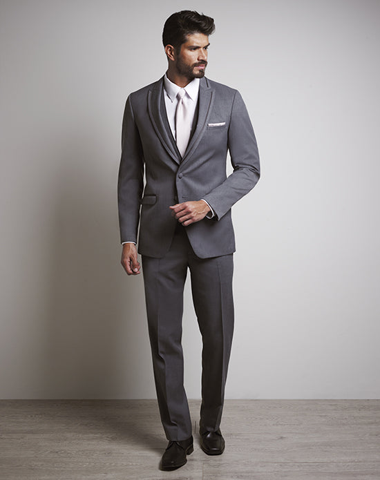 super cheap compares to pretty nice variousstyles Allure Men Iron Gray Tux