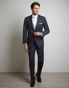 Allure Men Slate Blue Tux