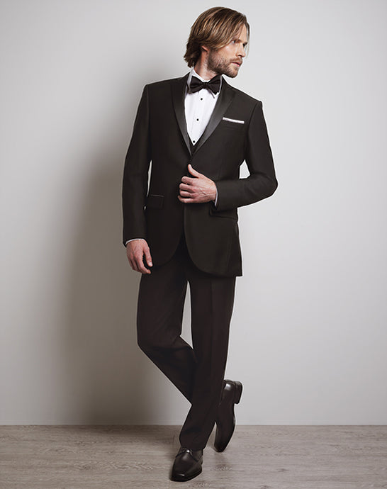 LUXE Faille Black Tux
