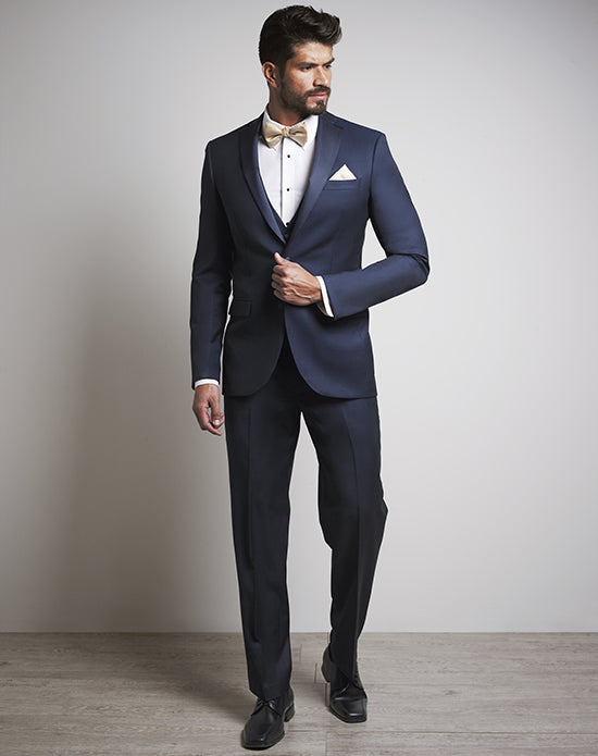 LUXE Faille Ink Blue Tux