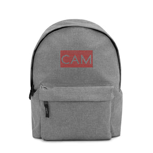 CAM Embroidered Backpack