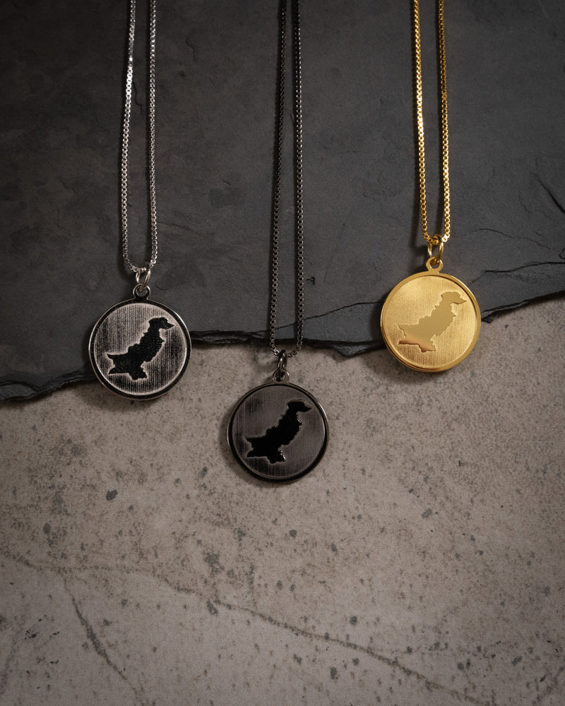 Pakistan Coin Necklace - Gold