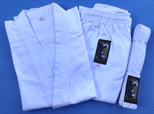 9oz Rhino Karate Uniforms - White