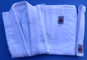 Rising Sun Judo Gi Uniforms - White